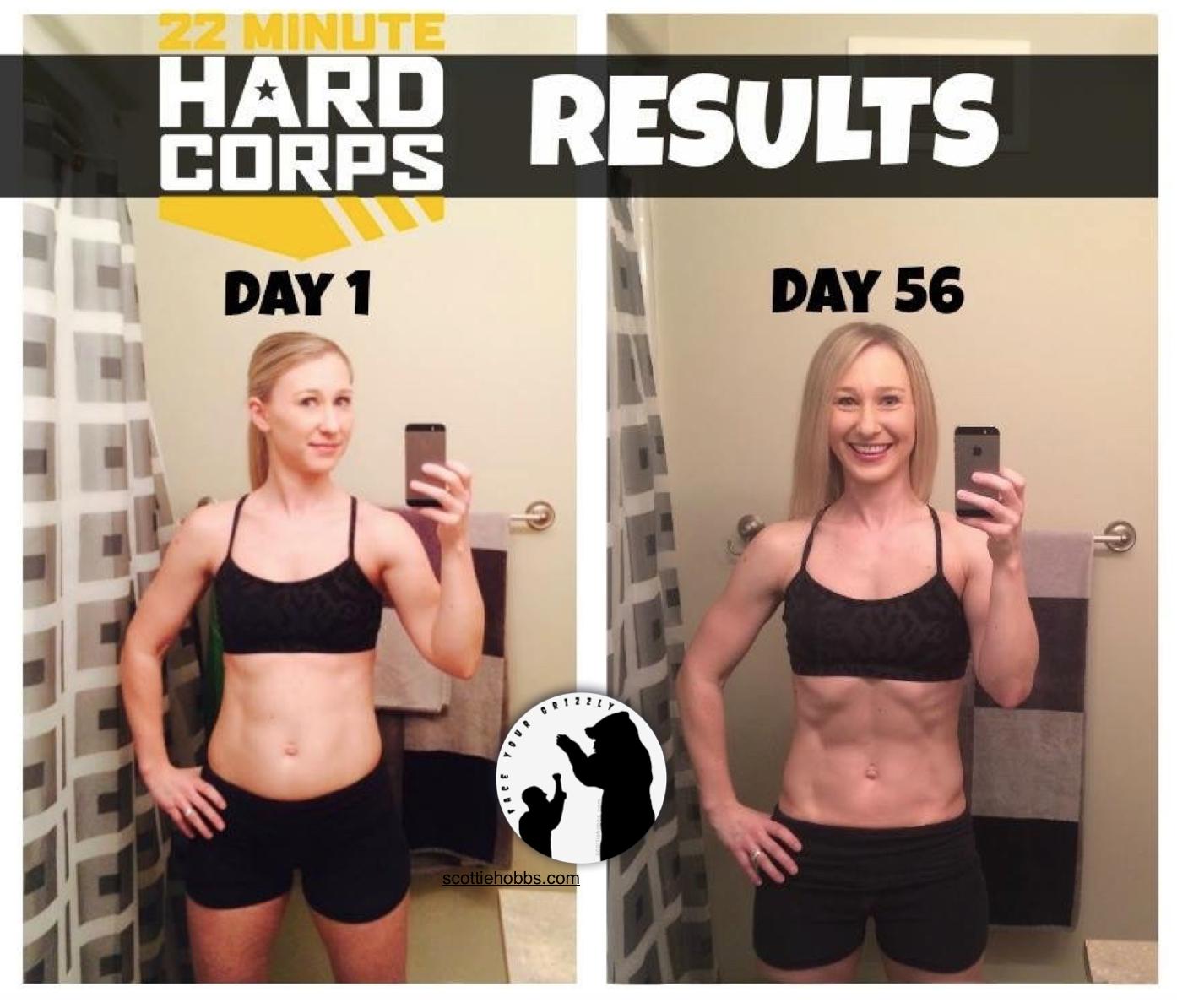22 Minute Hard Corps Workout Program