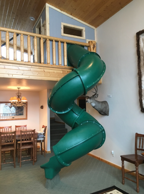 How to Install Tube Slide in Home