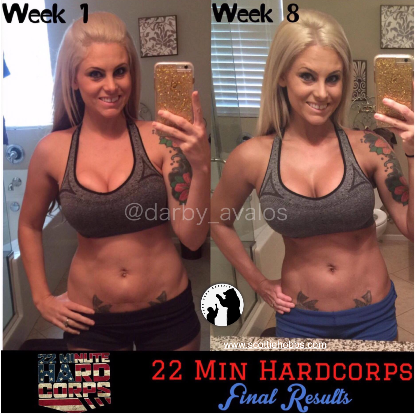 22 Minute Hard Corps Results