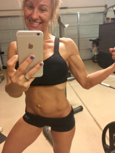 working out while breastfeeding