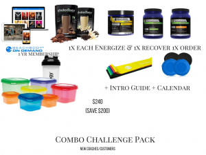 80 day obsession packs, 80 day obsession combo challenge pack,