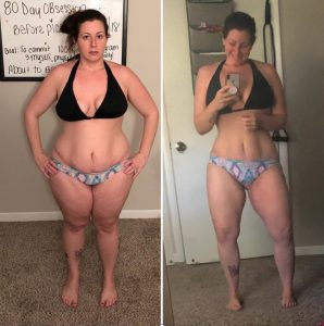 80 day obsession progress photos, 80 day obsession