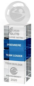 elite beachbody coach, elite beachbody trophy, 2020 beachbody coach trophy, 2020 beachbody award, 2020 beachbody elite prize,