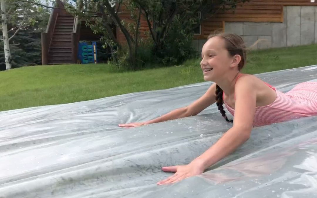 DIY Slip and Slide