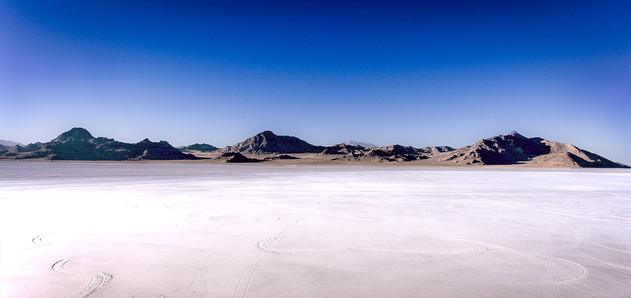 Bonneville Salt Flats.
