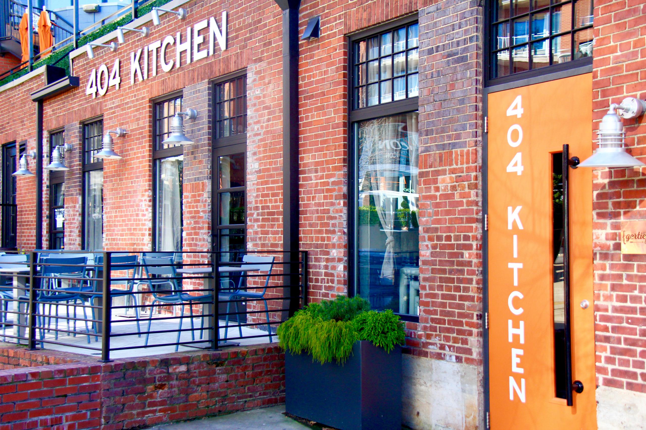 The 404 Kitchen door entrance
