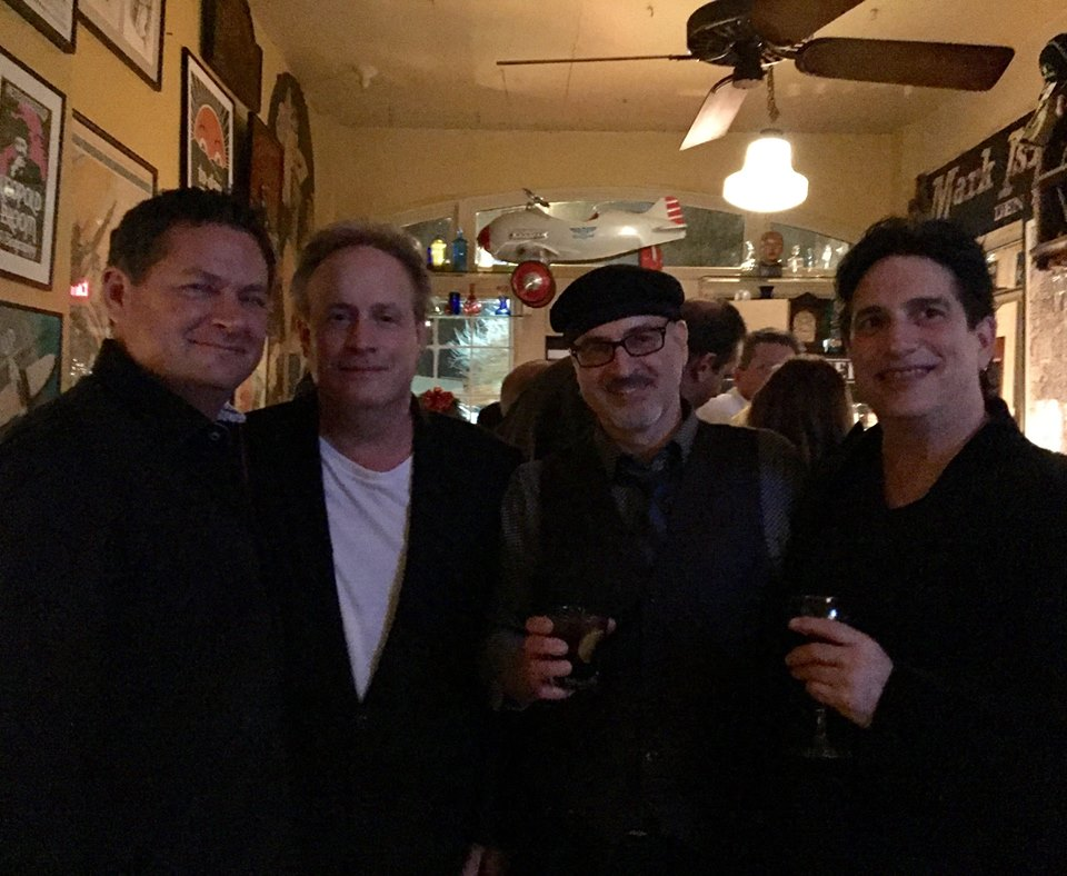With Steve Wheeler, Paul Wolf Christensen and Chris Cuda 2016 Night Town