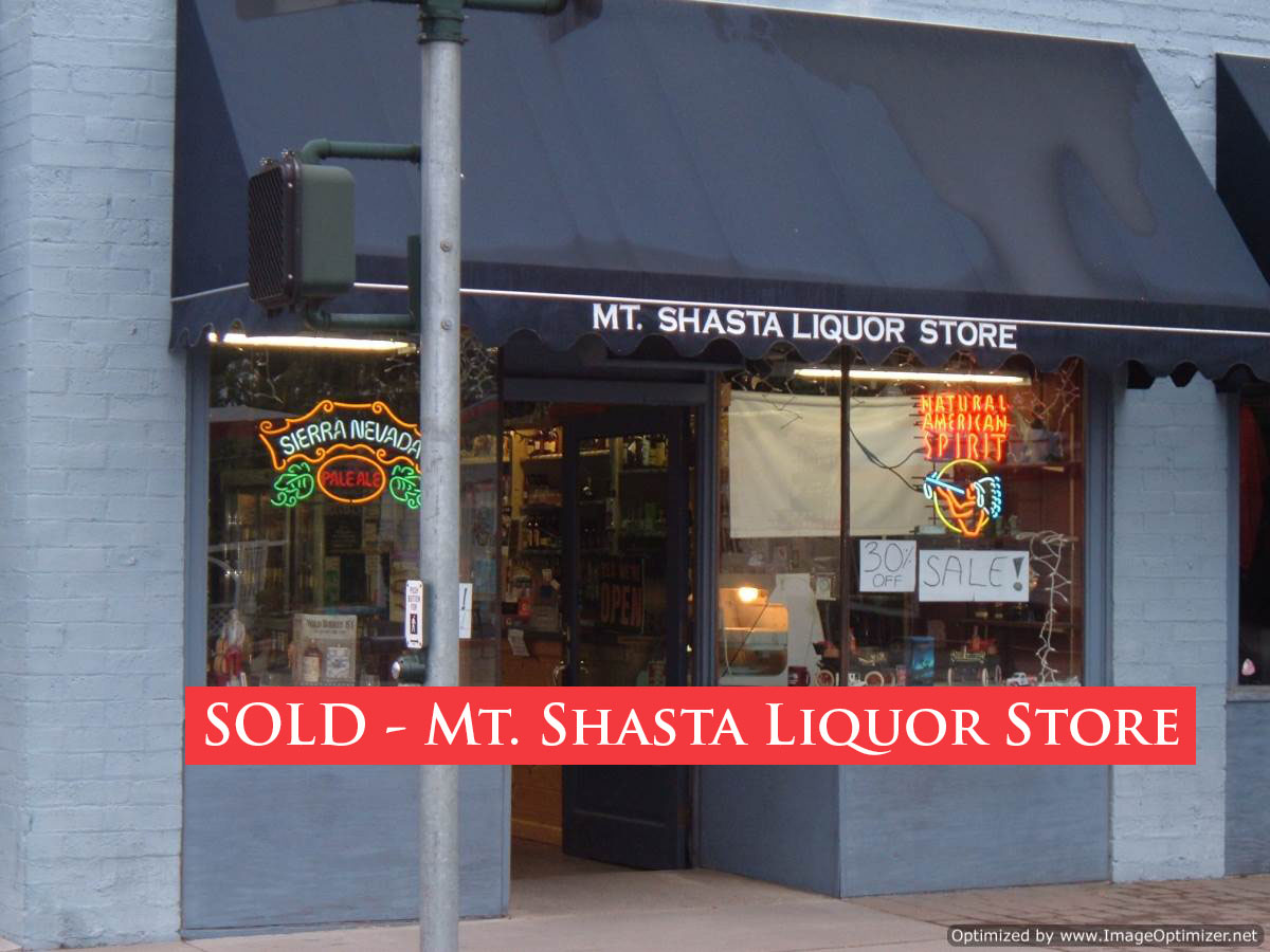 Sold Liquor Store For Sale In Northern California Mount