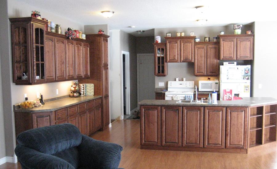 cherry cupboards
