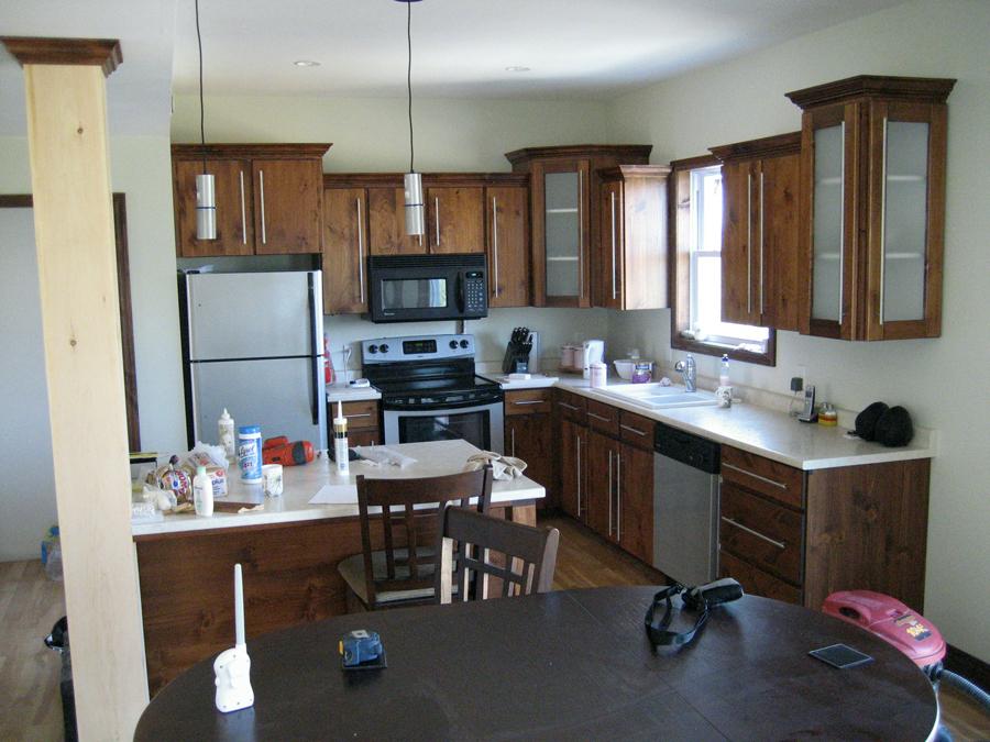 Pine kitchen