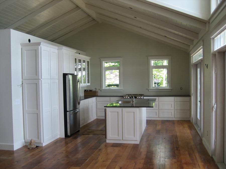 Large custom kitchen