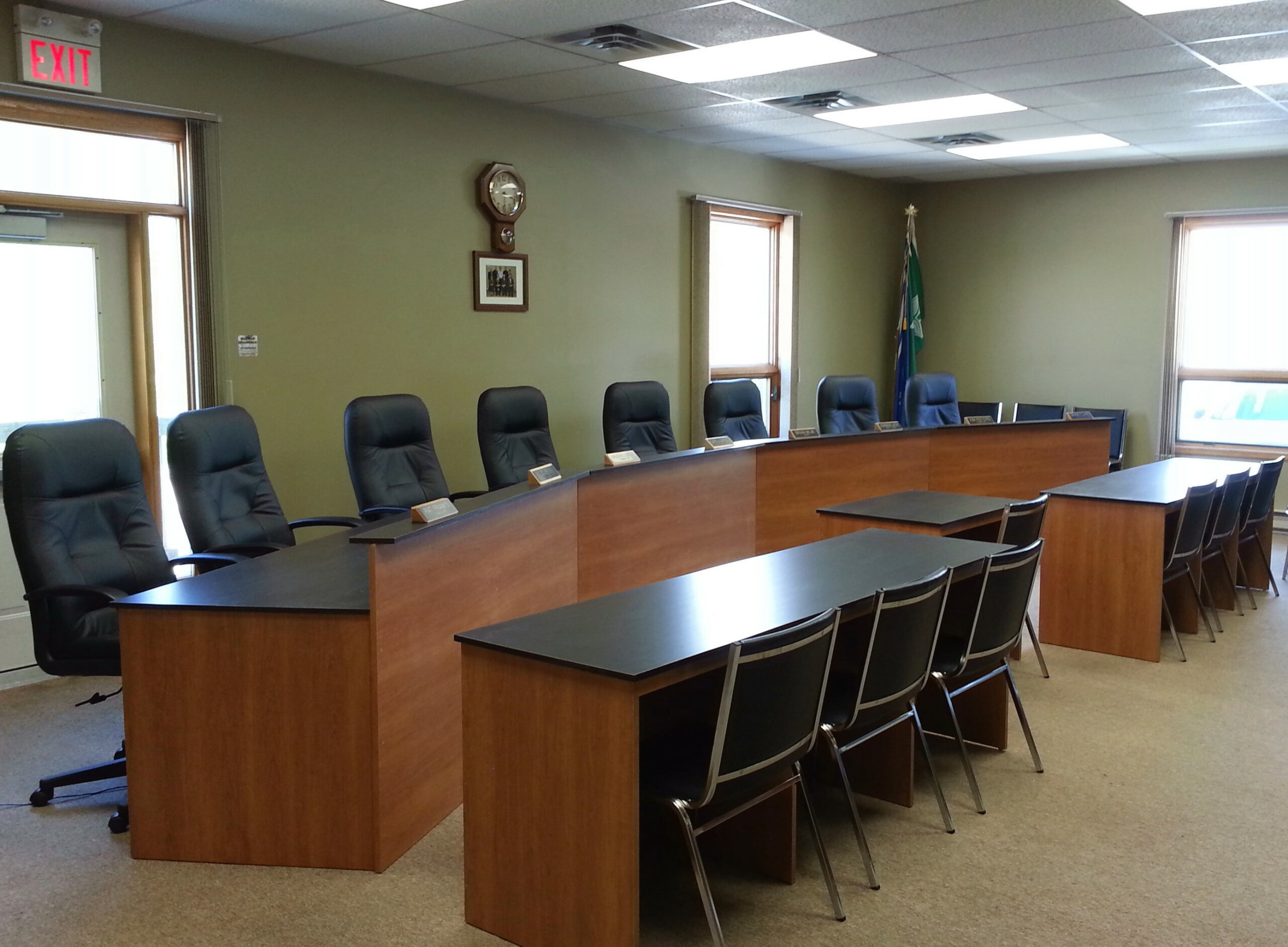 Custom boardroom tables