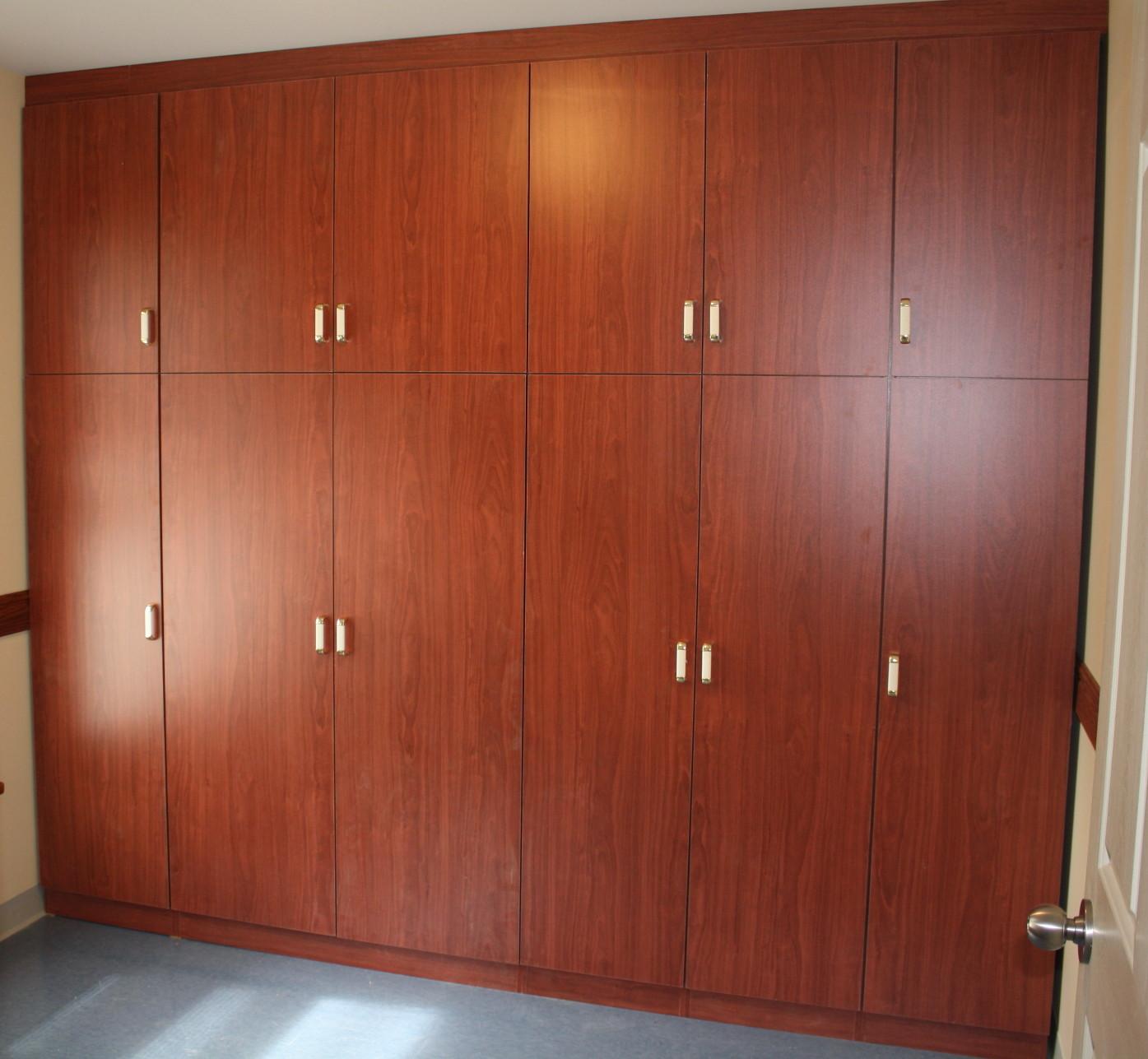 Custom office cupboards