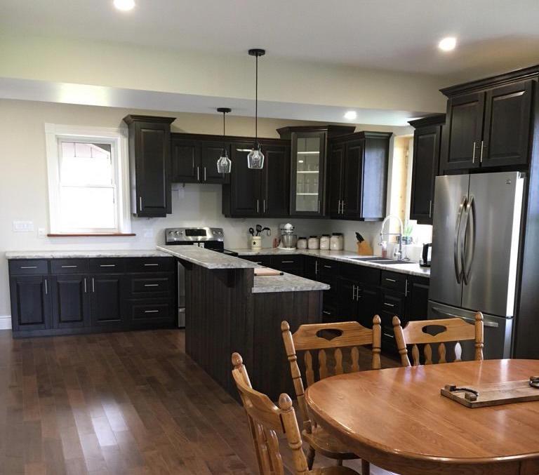 Cherry Kitchen Cupboards C15