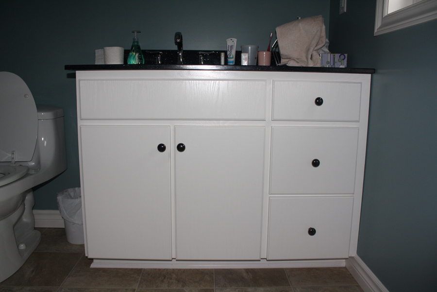 painted glazed vanity PG1
