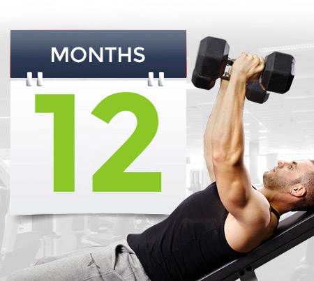 12 Month Gym Membership