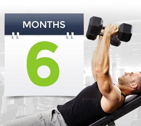 6 Month Gym Membership
