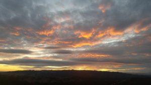 Halloween Sunset on Mt. Diablo