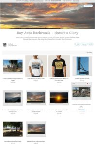 http://www.zazzle.com/collections/bay_area_backroads_natures_glory-119624175439066648