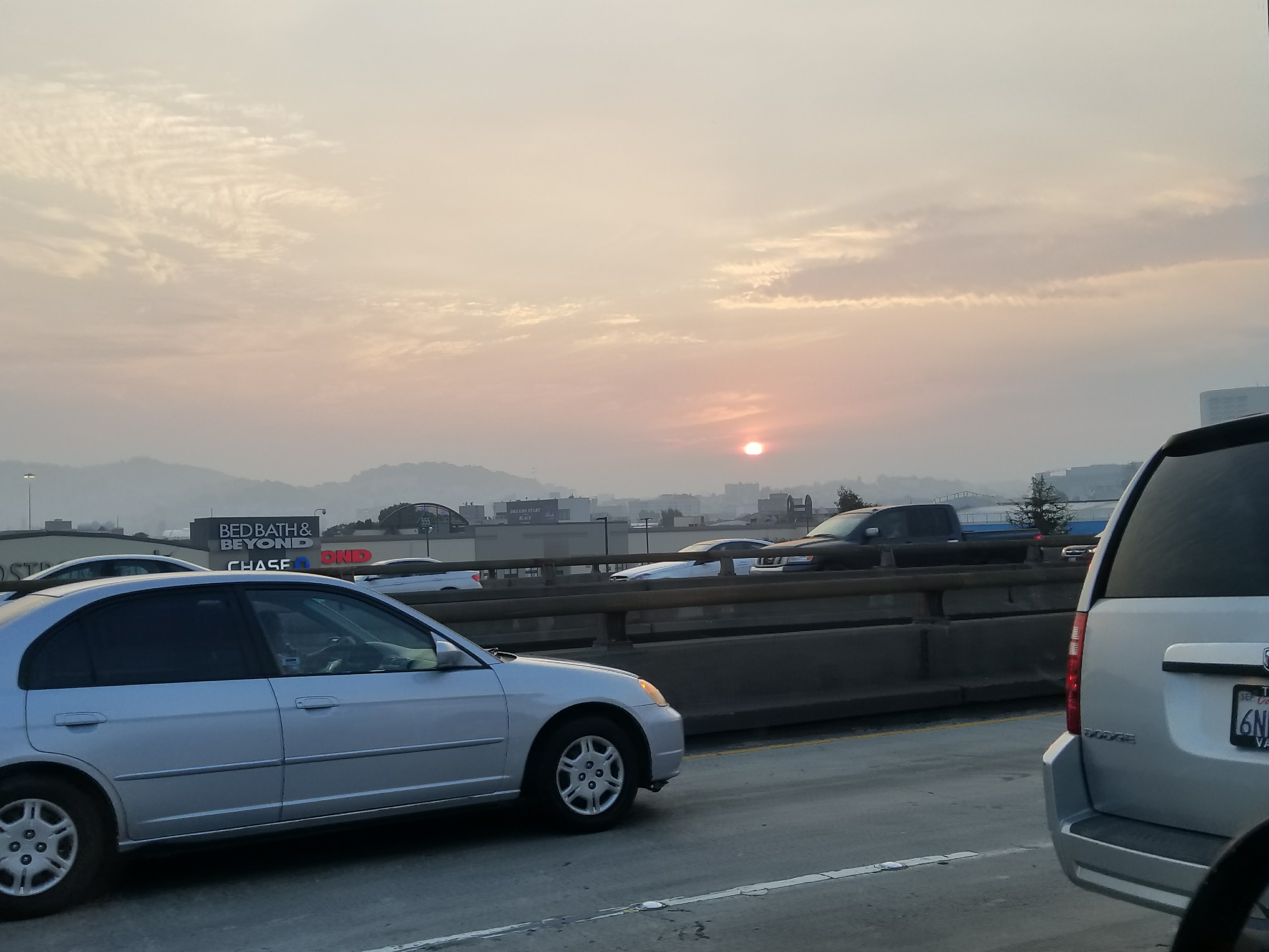 Sunset from Hwy 101