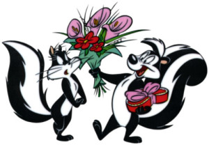 pepe-le-pew valentines day love addiction