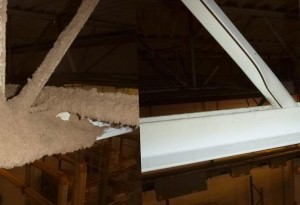 Industrial Rafter and Ceiling Cleaning