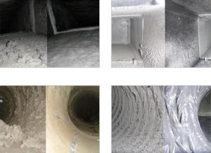 Examples of our commercial duct cleaning services