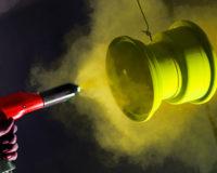 Powder coating Dust Fire