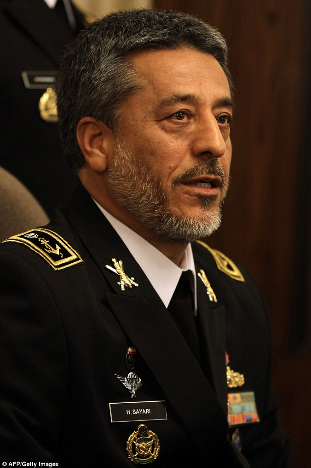 Iran's annual exercises train in the fight against terrorism and piracy, said Rear Admiral Habibollah Sayyari, according to state media