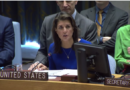 Ambassador Nikki Haley delivers remarks at the UN Security Council meeting