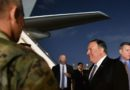 Pompeo Makes Unexpected Trip To Iraq, Warns Of 'Escalating' Iranian Activity