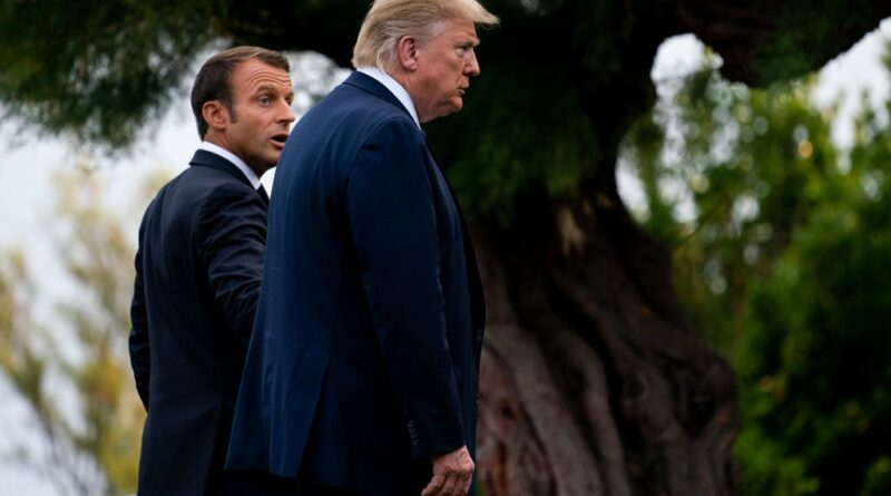 Mr. Macron and Mr. Trump
