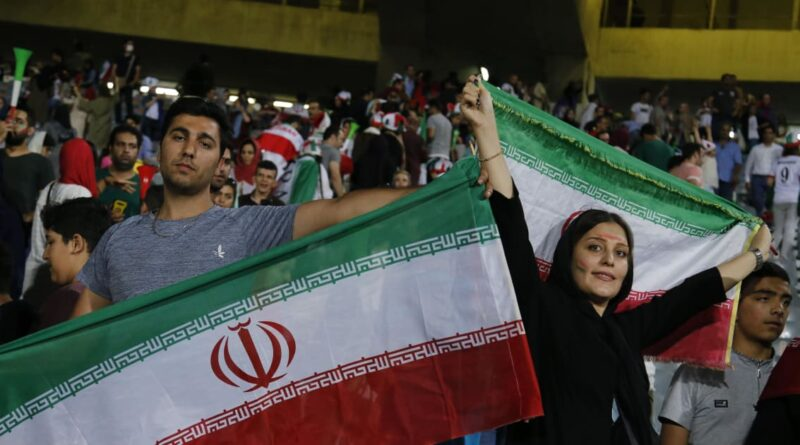 """Women have to be allowed into football stadiums in Iran"""