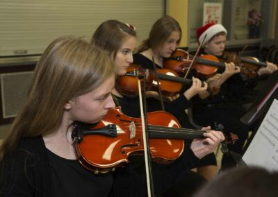 Youth Orchestra CSO girls
