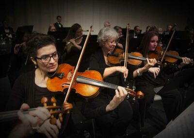 violins section-CSO
