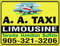 (905)321-3206 AA Taxi Niagara Airport Limo Service