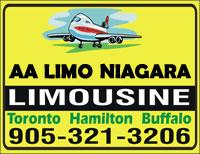 (905)321-3206 AA Limo Niagara Airport Limousine Service