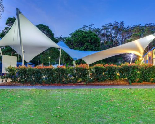 Shade To Order Australia - Polyedge Shade Sail - Shade Awnings ǀ Outdoor Sails ǀ Custom Shade Sails ǀ Resort Shade Sails ǀ Sail Awning ǀ Outdoor Canopy ǀ Sail Canopy ǀ Sun Shade Sail - International, , Sydney and Australia-wide