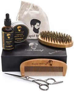 gifts for him beard grooming kit