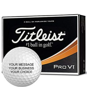 gifts for him personalised golf balls