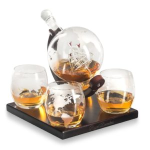 gifts for him whiskey decanter
