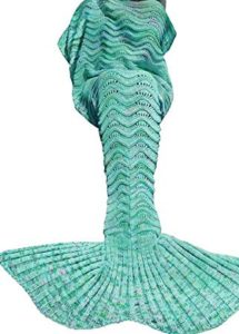 mermaid fishtail blanket