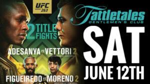 UFC 263 PPV – Adesanya vs. Vettori 2