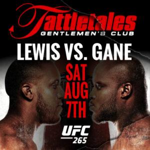 UFC 265 – Lewis vs Gane