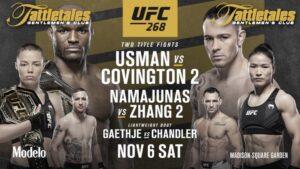 UFC 268 PPV