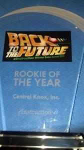 eInstruction Rookie of the Year Award