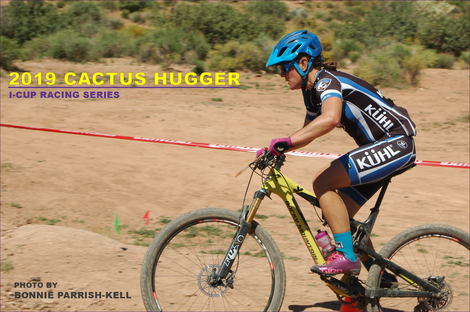 elite woman racing 2019 Cactus Hugger mountain bike race