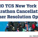 new york city marathon canceled. images belong to new york road runners club inc