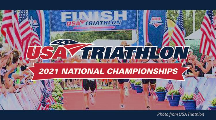 USA Triathlon 2021 national championships logo