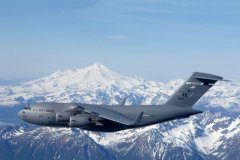 C17 Globemaster - Denali Fly By